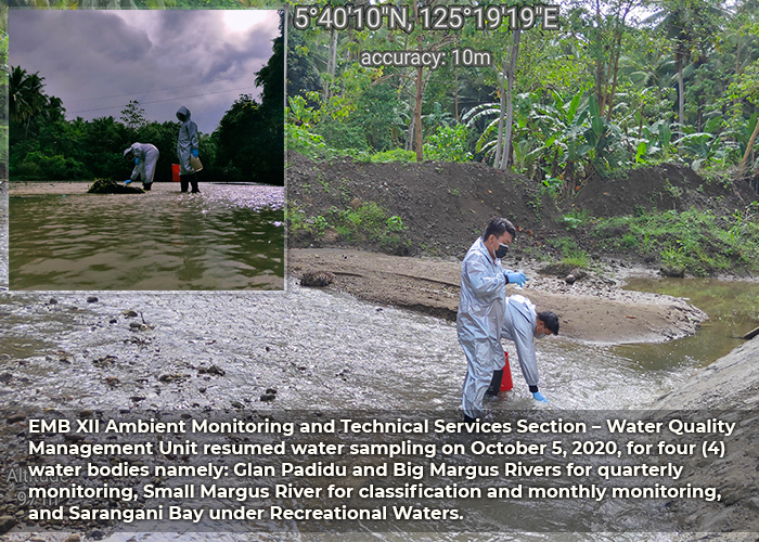 Small Margus River for classification and monthly monitoring